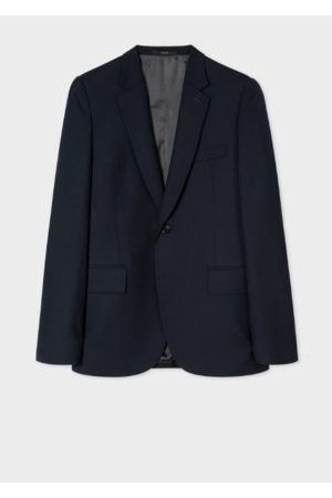 Paul Smith Tailored-Fit Navy Wool Blazer
