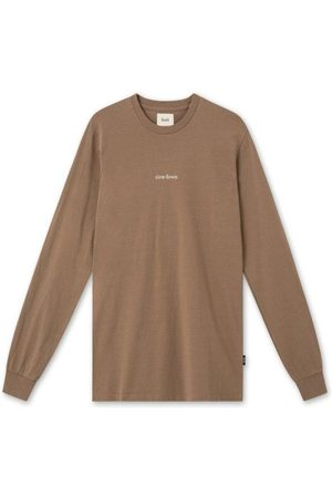 Foret Down Long Sleeve T-Shirt Stone