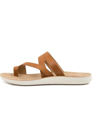 I LOVE BILLY Women Sandals - Margey Il Tan Sandals Womens Shoes Casual Sandals Flat Sandals