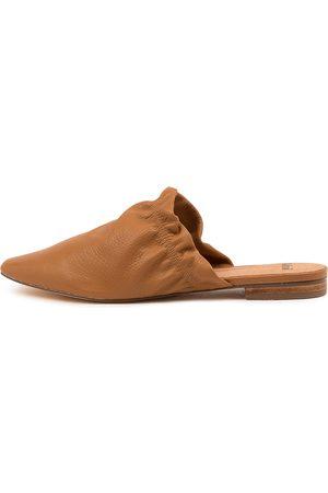 Mollini Women Flat Shoes - Jeliyah Mo Dk Tan Shoes Womens Shoes Flat Shoes