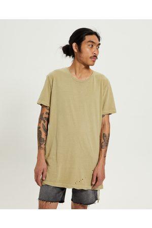 Ksubi Men T-shirts - Sioux T-shirt Tan
