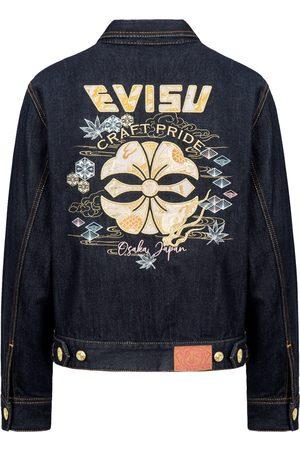 Evisu Dragon Brocade Appliqué Denim Jacket