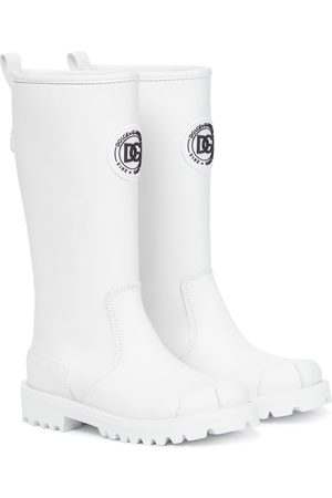 Dolce & Gabbana Kids Leather boots