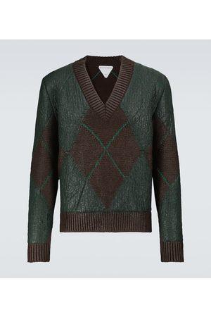 Bottega Veneta Wool and mohair V-neck sweater