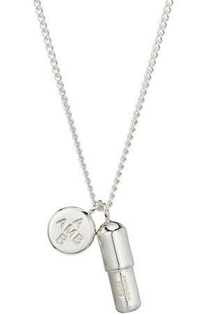 AMBUSH Sterling Pill Charm Necklace