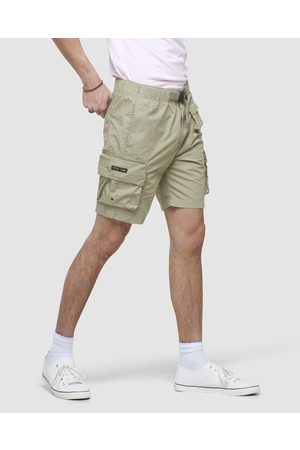 Superdry Utility Cargo Shorts - Pants (Timber Wolf) Utility Cargo Shorts