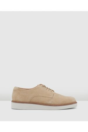 Clarks Baille Stitch - Flats (Taupe Suede) Baille Stitch