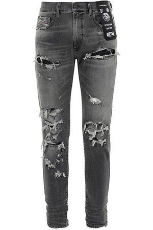 Diesel D-Strukt Distressed Slim-Fit Jeans