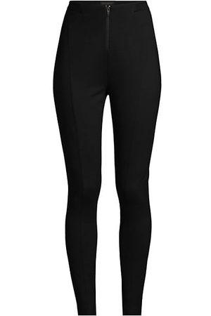 Donna Karan New York Essentials Seamed Zipper Leggings
