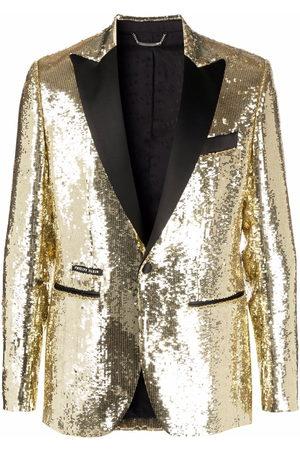 Philipp Plein Lord pailette-embellished blazer