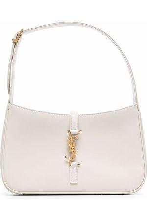 Saint Laurent Hobo logo-plaque shoulder bag