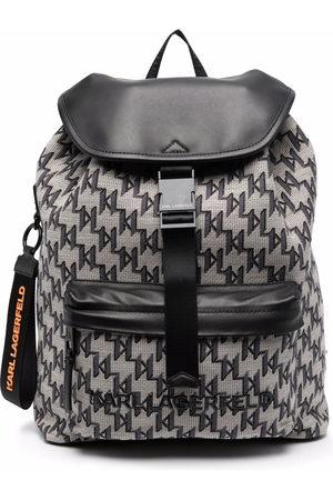 Karl Lagerfeld Women Backpacks - K/Monogram jacquard backpack