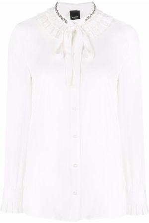 Pinko Crystal-embellished blouse