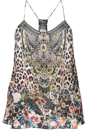Camilla Women Blouses - Call of The Cathedral t-back top