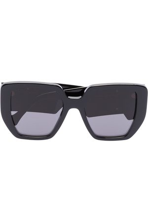 Gucci Double G oversize-frame sunglasses