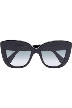 Gucci Oversize-frame sunglasses