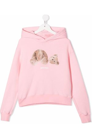 Palm Angels Teddy bear print hoodie