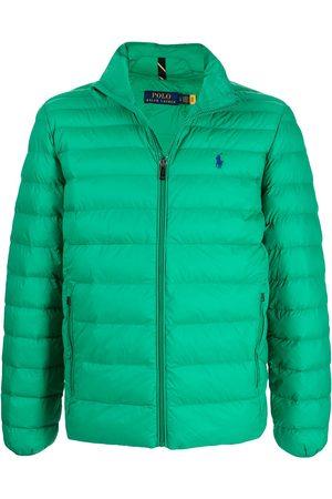 Polo Ralph Lauren Logo-embroidered puffer jacket