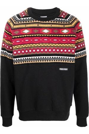 MARCELO BURLON Folk-pattern sweatshirt