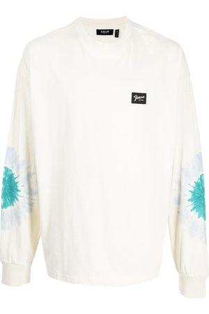 FIVE CM Men Sweatshirts - Rear slogan-print logo sweatshirt