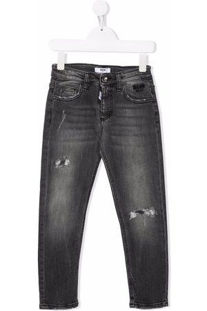 Msgm Boys Skinny - Mid-rise skinny jeans