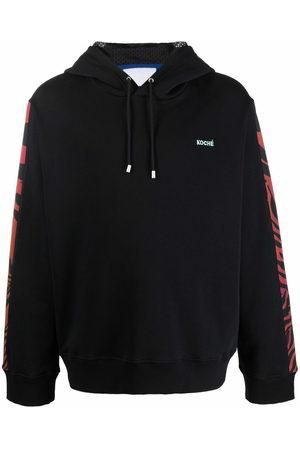 KOCHÉ Embroidered-logo hoodie