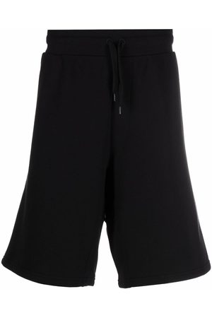 Moschino Embroidered-logo jogger shorts