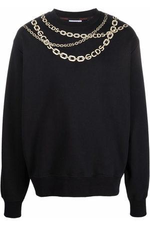 Gcds Chain-link print sweatshirt