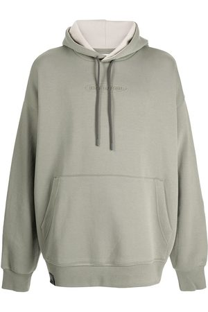 Izzue Colour block panelled hoodie