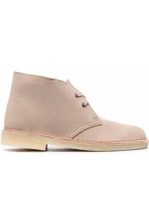 Clarks Lace-up suede desert boots