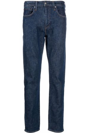 Levi's 512 logo-patch tapered jeans