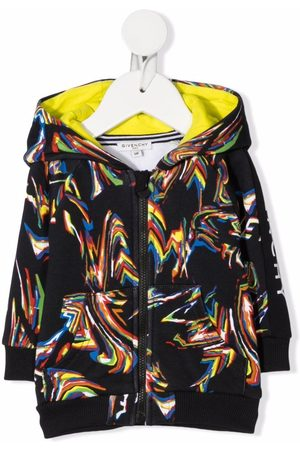 Givenchy Psychedelic logo-print hoodie