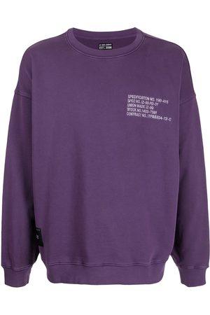 Izzue Specification text sweatshirt