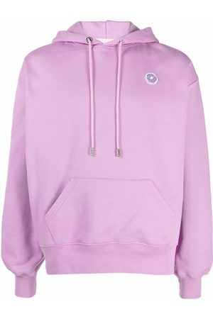 GCDS Logo-patch pullover hoodie
