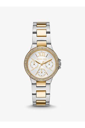 Michael Kors Watches - MK Mini Camille Pavé Two-Tone Watch - Two Tone
