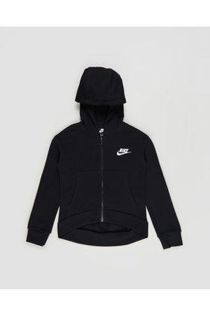 Nike Sportswear Club Fleece Full Zip Hoodie Teens - Hoodies ( & ) Sportswear Club Fleece Full-Zip Hoodie - Teens