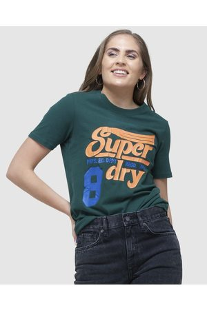 Superdry Collegiate Cali State Tee - T-Shirts (Enamel ) Collegiate Cali State Tee