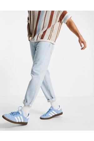Topman Relaxed jeans in bleach