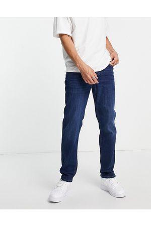 River Island Straight leg fera jeans in mid blue