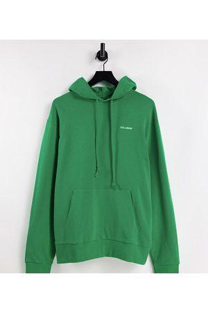 Collusion Men Hoodies - Logo hoodie in apple