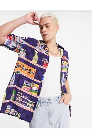 Vintage Supply Shopping print shirt in