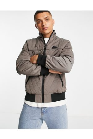 River Island Quilted jacket in -Neutral
