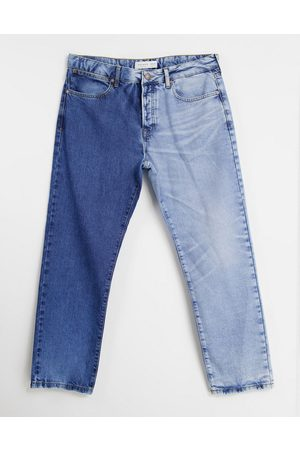 Topman Straight jeans with splice
