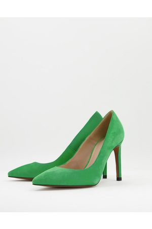 Whistles Cornel suede pointed stiletto in