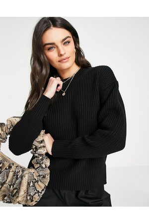 Selected Bailey puff-sleeved jumper in