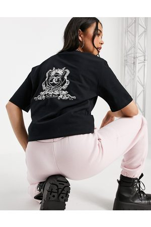 Juicy Couture Anniversary crest T-shirt in