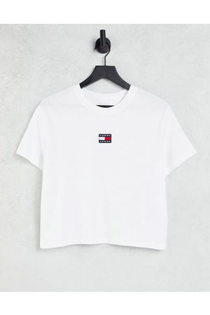Tommy Jeans Flag logo t-shirt in