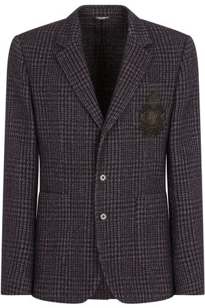 Dolce & Gabbana Wool-blend checked blazer