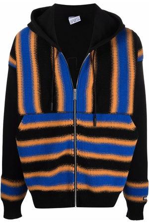 MARCELO BURLON Satellite Cross zipped hoodie