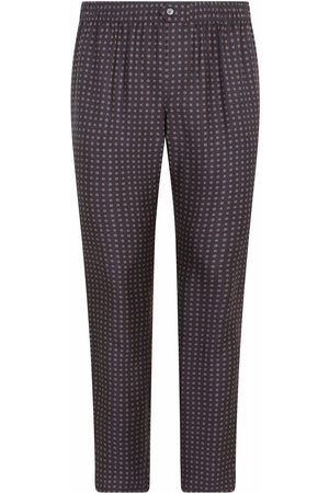 Dolce & Gabbana Motif-print tapered trousers